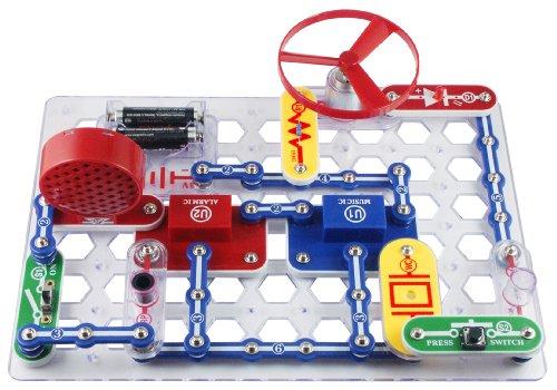 畅销益智玩具,Elenco Snap Circuits Jr. SC-100电路积木图片