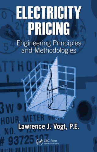 Electricity Pricing: Engineering Principles and Methodologies: Engineering Methodologies and Practice (Power Engineering (Willis))