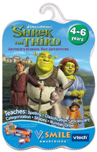 VTech - V.Smile - Shrek the Third: Arthur's School Day Adventure - 1