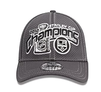 NHL Los Angeles Kings Official 2012 Stanley Cup Champion Locker Room Cap, Small/Medium