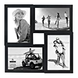 OM Arts Wooden Collage Photo Frame Sweet Long Lasting Memories (23 Cm X 24 Cm X 2.5 Cm, 123767)