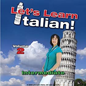 Amazon.com: Intermediate Italian, Volume 2: Let's Learn Italian ...