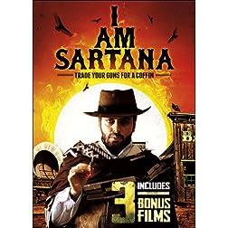 I Am Sartana, Trade Your Guns for a Coffin Includes 3 Bonus Films