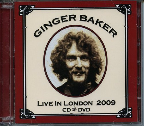 Live In London 2009 Import Edition by Ginger Baker (2011) Audio CD by Ginger Baker