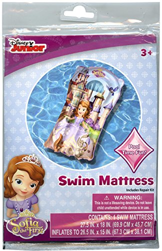 Disney Junior Sofia the First Pool Swim Mattress