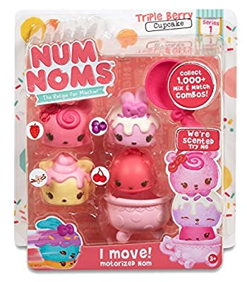 Num Noms Scented Starter 4-Pack - Triple Berry Cupcake by MGA Entertainment