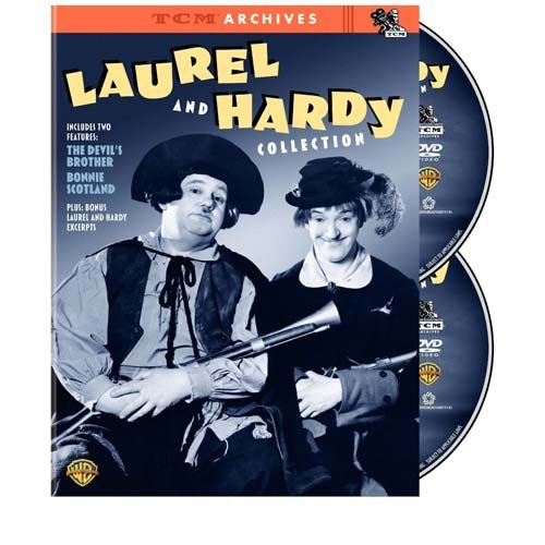 Cover art for  TCM Archives: The Laurel and Hardy Collection (The Devil's Brother / Bonnie Scotland)