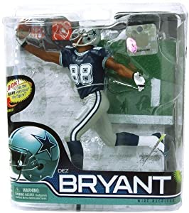 McFarlane Dallas Cowboys Dez Bryant Figurine-Series 28