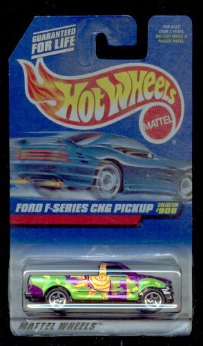 Hot Wheels 1999-908 Ford F Series CNG Pickup 1:64 Scale 5SP WHEELS - 1