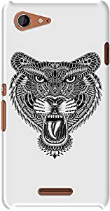 DailyObjects Tiger Sketch Case For Sony Xperia E3