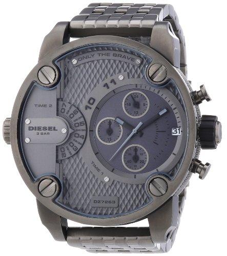 Diesel Men's DZ7263 The Daddies Series Analog Display Analog Quartz Grey Watch