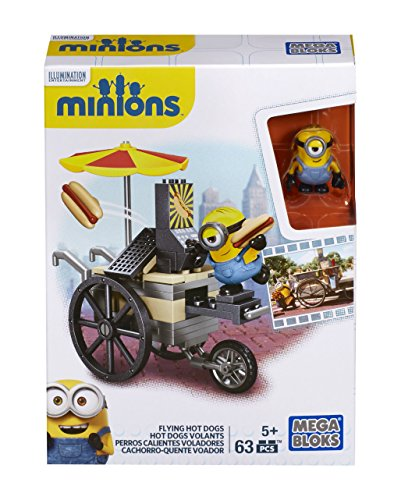 Mega Bloks Minions Flying Hot Dogs (Hot Dog Cart Umbrella compare prices)