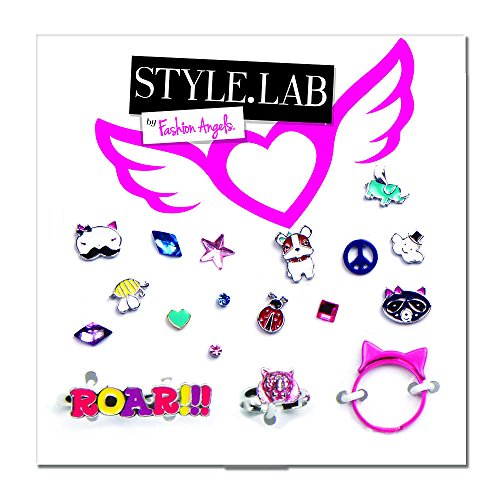 Fashion Angels Style Lab Earring Card with Rings - Critters - 1
