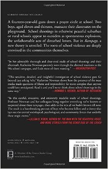 Rampage: The Social Roots of School ShootingsPaperback– May 4, 2005