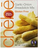 Chebe Bread Sticks Mix, Garlic & Onion, Gluten Free, 7.5-Ounce Bags (Pack of 8)