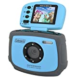 51JLEbLiRCL. SL160  Coleman Xtreme C4WP BL 12 MP Waterproof  Digital Camera with 1.8 Inch Flip Up LCD (Blue)