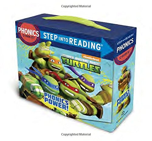 Phonics-Power-Teenage-Mutant-Ninja-Turtles-Step-into-Reading
