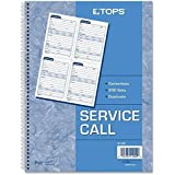 Service Call Book, Two-Part Carbonless, 200 Sets/Book