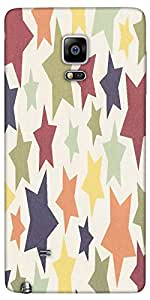 Snoogg Colorful Stars 2608 Designer Protective Back Case Cover For Samsung Ga...
