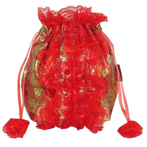 淑女妨化妆包零钱包MU1115 红
