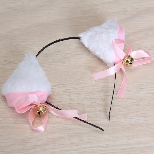 Hip Mall Sweet Cat Ears Headband Anime Convention Neko Cosplay Costume