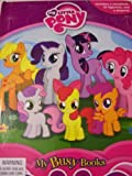 My Little Pony Friendship Is Magic Busy Book ~ Ponies Earn Their Cutie Marks Storybook, 12 Figurines and Playmat (Cutie Mark Adventures!)
