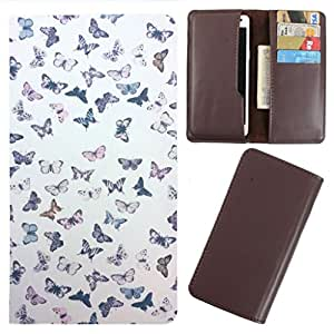 DooDa - For XOLO Q2500 PU Leather Designer Fashionable Fancy Case Cover Pouch With Card & Cash Slots & Smooth Inner Velvet