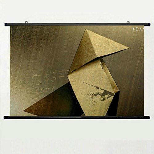 poster-heavy-rain-video-game-crane-origami-quantic-dream-graphics-poster-en-tiss-rod-est-non-compris