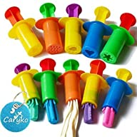 Caryko Dough Extruders Set Assorted D…