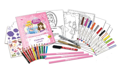 Imagen principal de Disney Princess Crayola Historia Studio Craft Kit