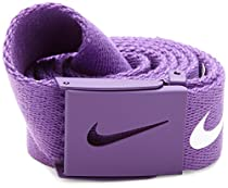 Nike Mens Tech Essential Belt, Varsity Purple, One Size