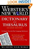 Webster's New World Dictionary and Thesaurus, 2nd Edition (Paper Edition)