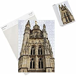 Photo Jigsaw Puzzle of Pey Berland tower, Bordeaux, Gironde, Aquitaine, France, Europe
