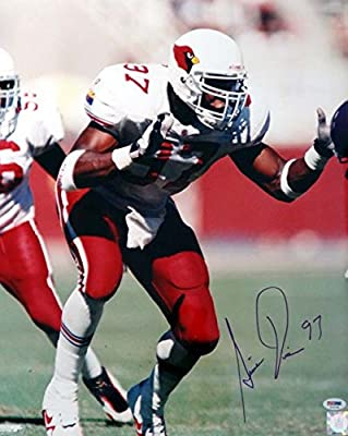 Simeon Rice Arizona Cardinals Autographed PSA/DNA Authenticated 16x20 Photo Cardinals - Signed Photos