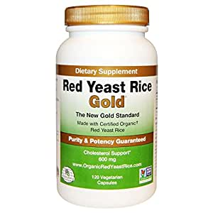 Amazon.com: Red Yeast Rice Gold 600 mg. - IP6
