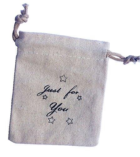 Stoffsäckchen Just for You Mini Säckchen - Schmuck-Säckchen Stoff-Beutel Geschenk