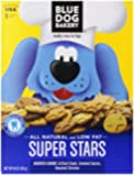 Blue Dog Bakery Super Stars Assorted Small Dog Treats, 10-Ounce Boxes (Pack of 6)