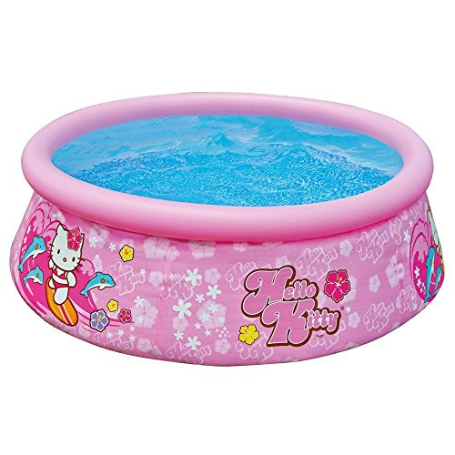 New-Intex-Hello-Kitty-Easy-Set-Inflatable-Instant-Kids-Swimming-Pool-28104EP