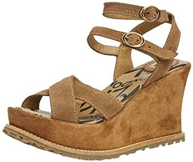 Fly London Eary, Women's Fashion Sandals, Sand/Sand, 7 UK