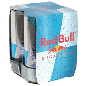 Red Bull Sugar Free Energy Drink, 4 ct, 8.4 oz