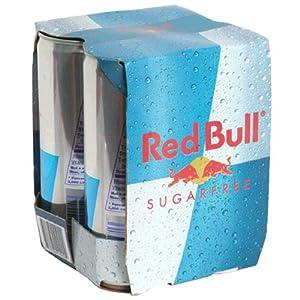 Red Bull Sugar Free Energy Drink, 4 ct, 8.4 oz