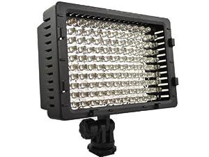 WINGONEER® CN-126 Caméra vidéo LED lampe de lumière pour caméscope Caméscope numérique ou appareil photo reflex numérique