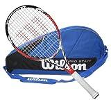 Wilson BLX Steam 105S Tennis Racquet with 3 Racquet Bag by Wilson
