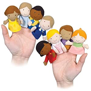 Little Children Finger Puppets by None