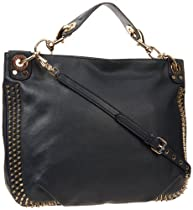 Rebecca Minkoff Mini Luscious Studs Shoulder Handbag,Midnight,One Size