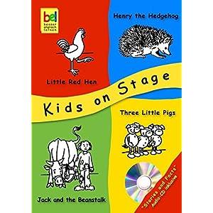 Kids on Stage: 4 Theaterstücke & Fakten zum Thema - inklusive Audio-CD - Little Red Hen,