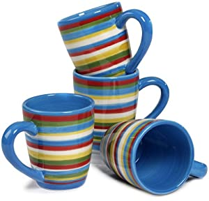 Tabletop lifestyles as seen on two and a half men sedona mug 16 ounce blue set - Two and a half men coffee mug ...