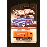 HIWAY HAULER 15/34 * ORANGE * Slick Rides 2010 Hot Wheels Delivery Series 1:64 Scale Die-Cast Vehicl