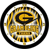 Grambling State Tigers NCAA 12In Dimension Wall Clock