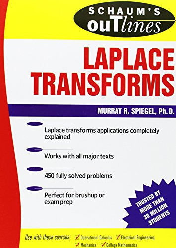 Schaum's outline of Laplace transforms